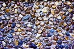 Carta da parati di pietra del fondo della parete Immagine Stock