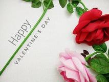 Carta da parati di rosa artistica Immagine Stock