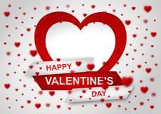 Carta da parati di San Valentino Immagine Stock