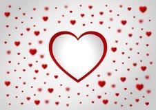 Carta da parati di San Valentino Immagini Stock
