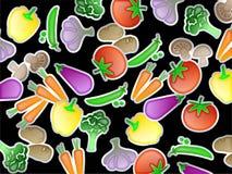 Carta da parati di verdure illustrazione vettoriale