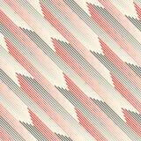 Carta da parati diagonale senza cuciture della banda Struttura geometrica astratta illustrazione di stock