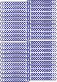 Carta da parati e fondo etici del modello di poligonal Fotografia Stock Libera da Diritti