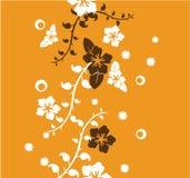 Carta da parati floreale illustrazione vettoriale