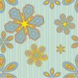 Carta da parati floreale illustrazione di stock