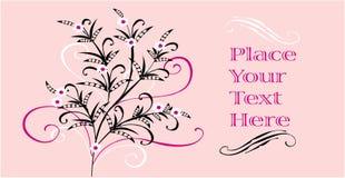Carta da parati floreale Immagini Stock Libere da Diritti