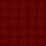 Carta da parati floreale rossa di lusso Fotografia Stock
