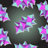 Carta da parati geometrica Fotografia Stock