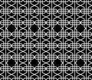 Carta da parati geometrica d'annata astratta Fotografia Stock Libera da Diritti