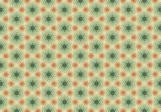 Carta da parati gialla verde rossa del modello di geomatics Immagini Stock Libere da Diritti