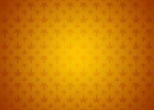 Carta da parati ornamentale del fondo di struttura del modello di Autumn Spring Gradient Orange Yellow delle foglie Fotografie Stock
