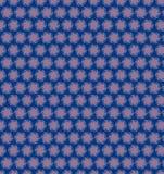 Carta da parati porpora blu del modello del cerchio astratto Fotografie Stock