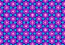 Carta da parati porpora blu rosa del modello di geomatics Immagine Stock