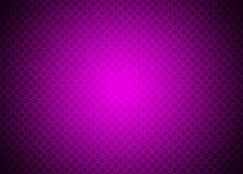 Carta da parati porpora scura di Violet Techno Ornamental Pattern Background illustrazione vettoriale