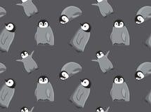 Carta da parati senza cuciture del pinguino del bambino royalty illustrazione gratis