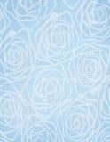 Carta da parati senza cuciture delle rose dipinte a mano antiche dell'acquerello Immagini Stock Libere da Diritti