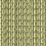 Carta da parati senza giunte di bambù (, CMYK) Illustrazione di Stock