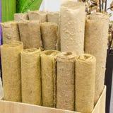 Carta dalle fibre tessili naturali Fotografia Stock