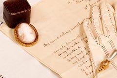Carta de amor Fotografía de archivo