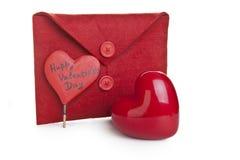 Carta de amor Imagens de Stock