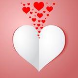 Carta de amor Ilustração Stock