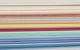 Carta de color Foto de archivo libre de regalías