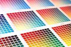 Carta de color Imagen de archivo libre de regalías