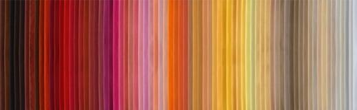Carta de color Fotos de archivo libres de regalías
