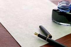 Carta de comercialización del asunto Imagen de archivo