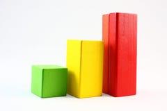 Carta de crescimento Imagens de Stock