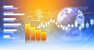 carta de crescimento do negócio 3d Fotos de Stock