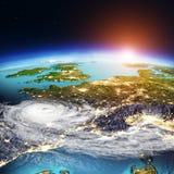 Carta de distribuição do tempo de Europa ocidental rendição 3d Foto de Stock Royalty Free