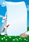 Carta de Easters ilustración del vector