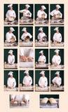 Carta de la fabricación de pan Imagen de archivo