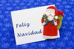 Carta de la Navidad Imagenes de archivo