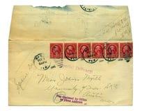 Carta de la vendimia   Imagen de archivo libre de regalías