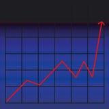 Carta de negócio Imagens de Stock