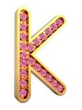 Carta de oro Imagen de archivo libre de regalías