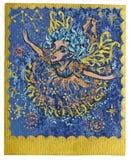 Carta de tarot - celebraciones stock de ilustración
