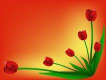 Carta dei tulipani royalty illustrazione gratis