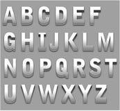 Carta del alfabeto imagenes de archivo