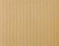 Carta del cartone ondulato Fotografia Stock