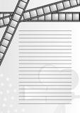 Carta del cine libre illustration