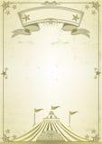 Carta del circo de la tapa grande Foto de archivo libre de regalías