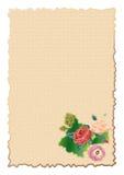 Carta del cumpleaños Fotografía de archivo libre de regalías