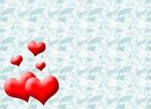 Carta del cuore illustrazione vettoriale