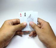 Carta del gioco Immagini Stock