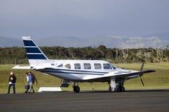 Carta del jet privado imagen de archivo