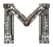 Carta del metal Foto de archivo libre de regalías