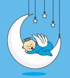 Carta del neonato illustrazione di stock